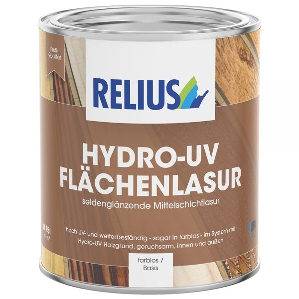 Relius Hydro-UV Flächenlasur weisserfuchs.de