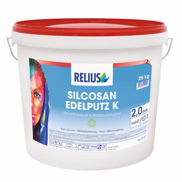 Relius Silcosan Edelputz K Farbton MIX weisserfuchs.de