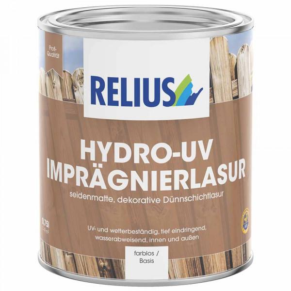 Relius Hydro-UV Imprägnierlasur 15 Standardfarbtone MIX weisserfuchs.de