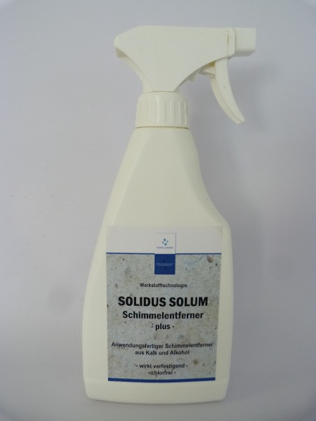 Nanolamina Schimmelentferner & Verfestiger ( Solidus Solum SE plus )