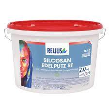 Relius Silcosan Edelputz ST Farbton MIX weisserfuchs.de