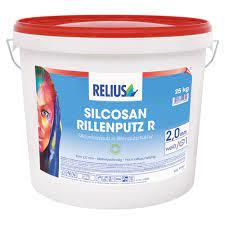 Relius Silcosan Rillenputz R Farbton MIX weisserfuchs.de