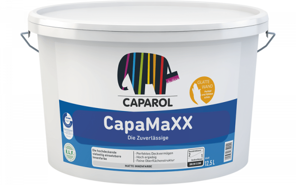 Caparol CapaMaXX Farbton MIX weisserfuchs.de