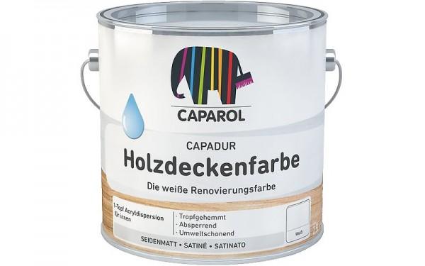 Capadur Holzdeckenfarbe Caparol weisserfuchs.de