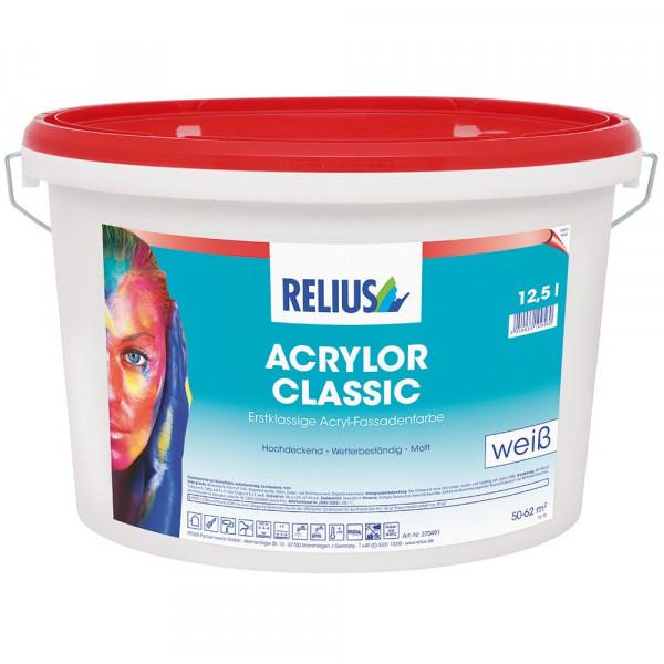 Relius Acrylor Classic Farbton MIX weisserfuchs.de