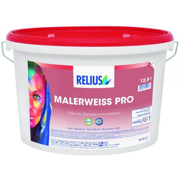 Relius Malerweiß PRO Farbton MIX weisserfuchs.de
