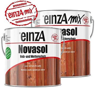 einzA Novasol Holz und Wetterschutz Lasur