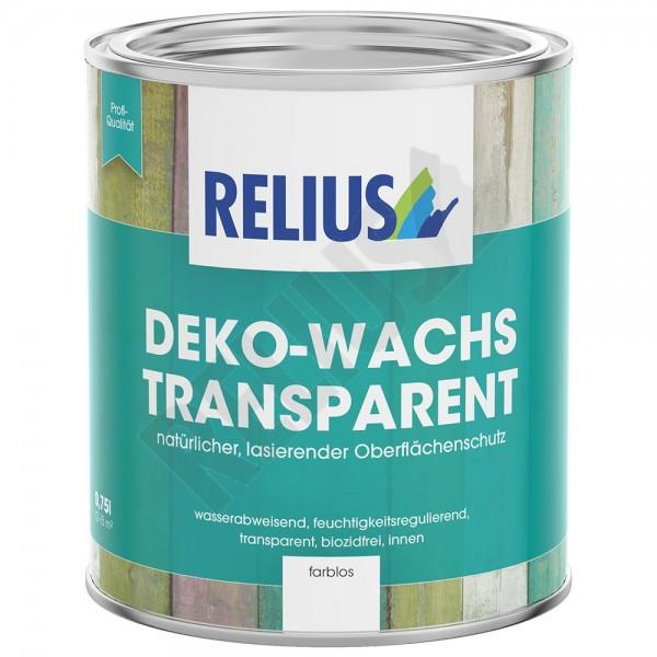 Relius Deko-Wachs transparent