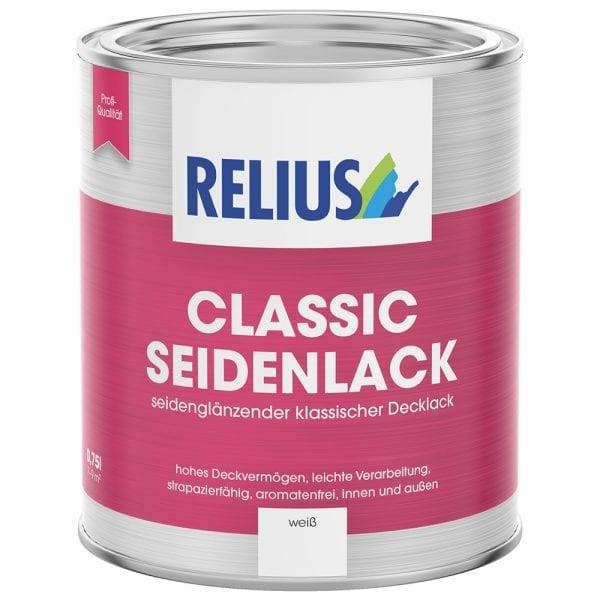 Relius Classic Seidenlack weisserfuchs.de
