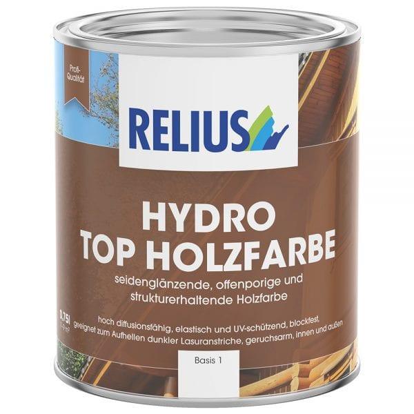 Relius Hydro Top Holzfarbe 15 Standartfarbton MIX weisserfuchs.de