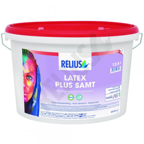 Relius Latex Plus Samt Farbton Mix weisserfuchs.de