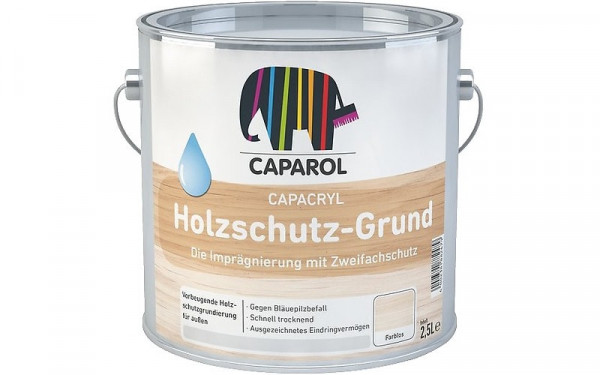 Caparol Capacryl Holzschutz-Grund farblos weisserfuchs.de