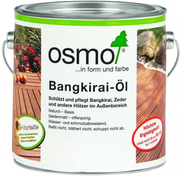 Osmo Bangkirai - Öl  weisserfuchs.de