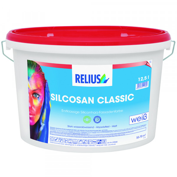 Relius Silcosan Classic Farbton MIX weisserfuchs.de