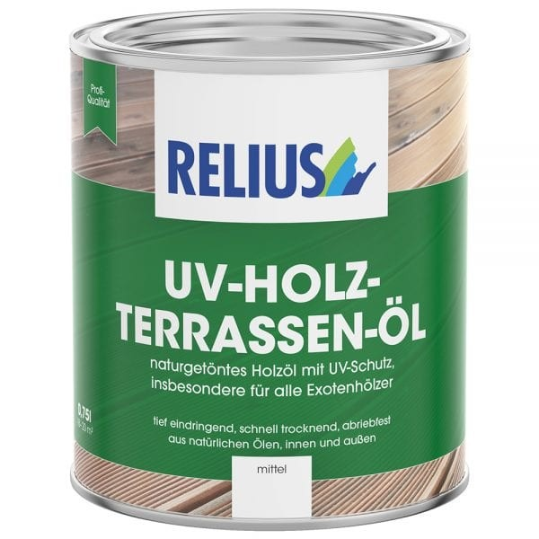 Relius UV-Holz-Terrassen-Öl weisserfuchs.de